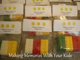 goodie bags for halloween lego birthday party the goody bags making memories with your kids