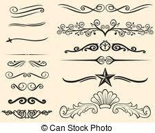 Decorative Line Clip Art Lines Clip Art Vector Graphics 1 163 612 Lines Eps Clipart Vector