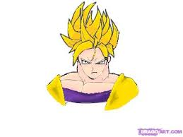 draw goku dbz step step dragon ball characters