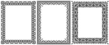 ornamental vector frames creative alys