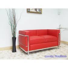 le corbusier lc2 sofa 2 seater mooka modern furniture