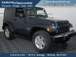 cheap jeep wrangler for sale jeep wrangler in wichita ks davis moore cdjr near derby