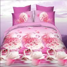 Pink Rose Duvet Cover Set Bedding White Rose Promotion Shop For Promotional Bedding White