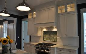 Mirror Backsplash In Kitchen by Beveled Tile Beveled Subway Tile Westside Tile And Stone