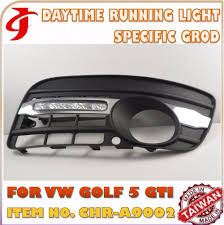 car decoration accessories for vw golf 5 gti drl daytime running