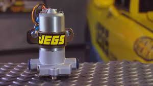 Jegs Auto Parts Jegs Universal Street Performance Race Electric Fuel Pump With
