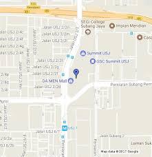 map usj 2 sawasdee thai kitchen cafe summit usj 1