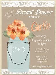 Mason Jar Bridal Shower Invitations 13 Bridal Shower Invite Ideas
