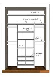 closet designs plans 3 chic built closet design best 25 small