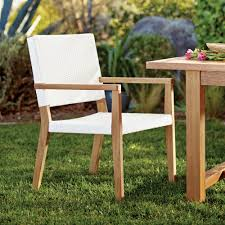World Market Outdoor Chairs by Wood Sirmione Outdoor Dining Chair Set Of 2 World Market