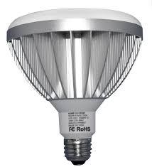 led light bulb wattage chart kobi electric cool 85 r40 85 watt equivalent bright white led