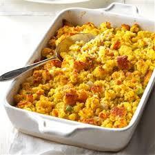 grandma u0027s corn bread dressing recipe taste of home