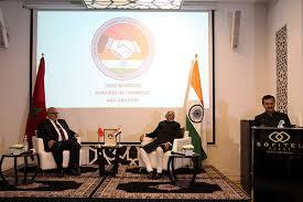 chambre commerce industrie création de la chambre de commerce et d industrie maroco indienne