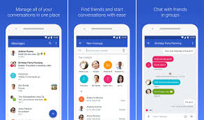 imessage android apk s android messages app hits 100 million downloads