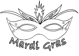 black and white mardi gras masks gras masks coloring pages