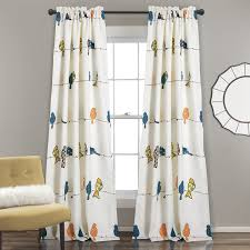Hypoallergenic Curtains Bird Curtains Wayfair