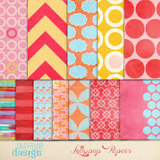 Scrapbook Paper Packs Digital Scrapbook Paper Pack Patterns Creative Market