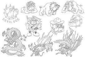 bulldog dragon linework sheet 09 copy 400 this is a sample u2026 flickr