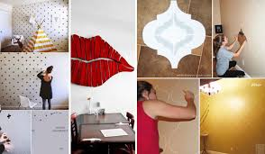 26 diy cool and no money decorating ideas for your wall amazing