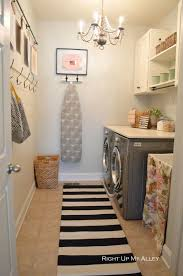 This is more practical for the small size laundry rooms usually