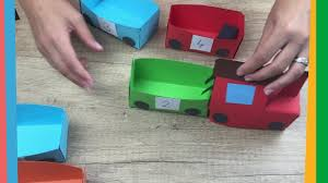paper train craft for kids easy to make for everyone youtube