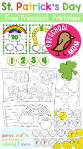 st patrick u0027s day preschool printables