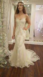 enzoani wedding dress blue by enzoani henley ivory lace straps wedding dress uk