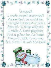 free five snowmen poem and ornament idea best of