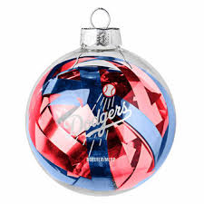 Los Angeles Christmas Decorations Los Angeles Dodgers Holiday Decorations Ornaments Stockings