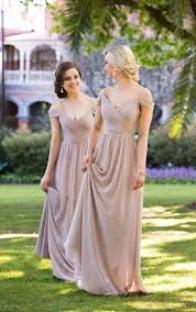 bridesmaid gowns bridesmaid gowns the shoulder gown sorella vita
