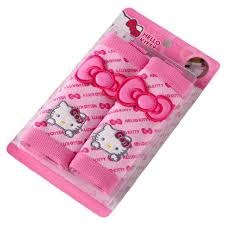 shop pair universal safety belts cover pink bowkont