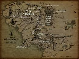 a map of middle earth notes from the perilous realm sauron s map of middle earth