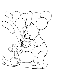 winnie pooh friends fall coloring halloween