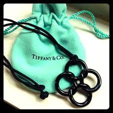 black jade necklace pendant images Tiffany co jewelry tiffany quadrifoglio black jade pendant jpg