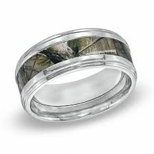 realtree wedding bands men s 9 0mm realtree ap camouflage inlay comfort fit titanium
