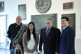 gov livingston student sama machanda receives port authority of
