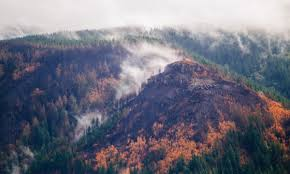 Wildfire Radio by The First Map Is Out Showing The Where The Columbia River Gorge