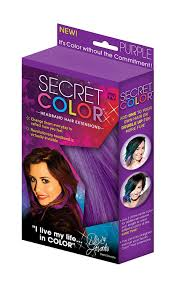 amazon com secret color headband hair extensions purple beauty