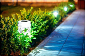 solar powered patio lights brightest solar powered landscape lights white solar powered motion