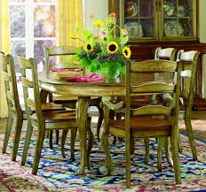 Vineyard Round Dining Table W Leaf  Hooker - Hooker dining room sets