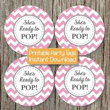 party favor labels ready to pop printable baby shower by bumpandbeyonddesigns on zibbet