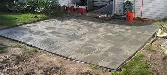 Concrete Patio Blocks Leveling The Patio Paver By Paver