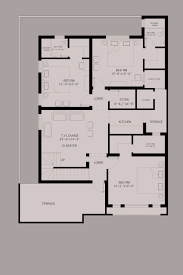 5 marla house plan in autocad arts