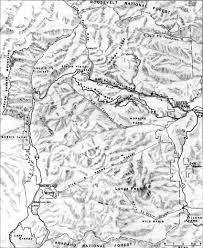 Rocky Mountain National Park Map Rocky Mounain National Park A History An Introductory Note