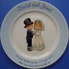 60th wedding anniversary plate anniversary plate hearts design ceramiccards
