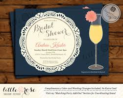 mimosa brunch invitations dahlia flower mimosa bridal shower invitation bridal luncheon