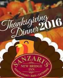 the best restaurant for thanksgiving dinner in bergen county