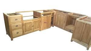 facade meuble cuisine facade meuble cuisine bois brut caisson