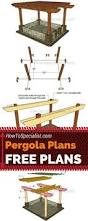 Pergola Design Plans Free by Porch Pergola Plans Outdoor Plans And Projects Woodarchivist