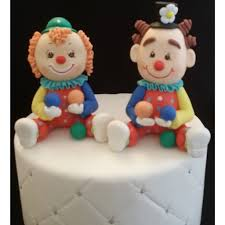 circus cake toppers circus birthday decorations carnival cake topper clown cake
